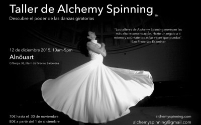 Alchemy Spinning Workshop in Barcelona