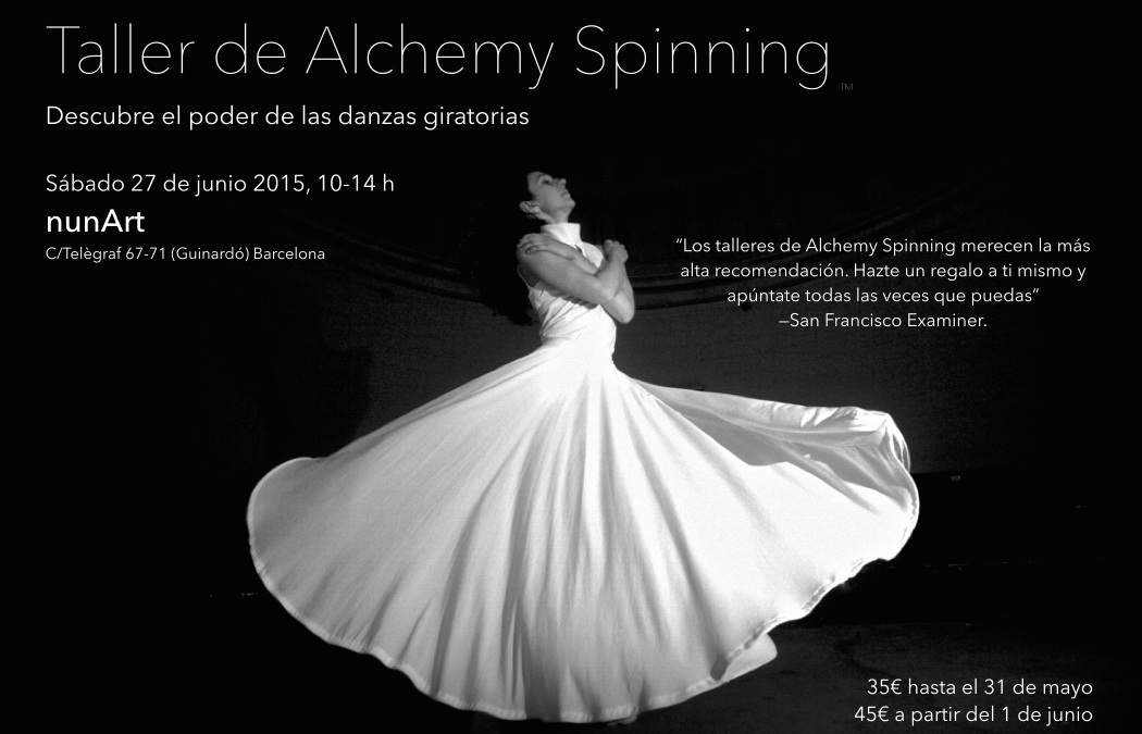 Alchemy Spinning™ Workshop at NunArt, Barcelona