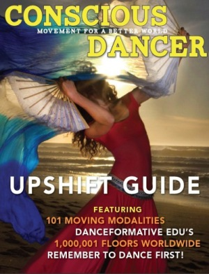 Alchemy Spinning featured on Conscious Dancer Magazine