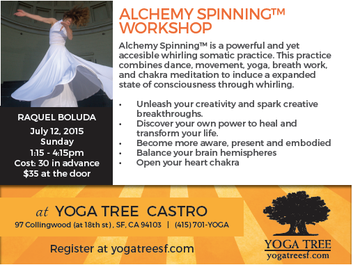Alchemy Spinning™ Workshop at Yoga Tree@Castro, San Francisco